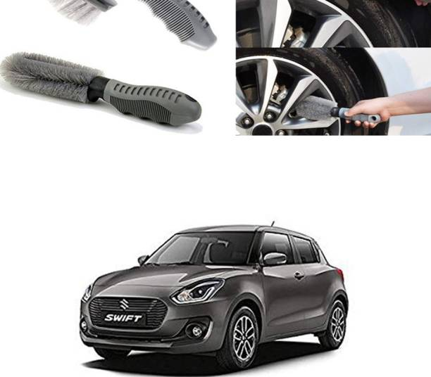 Ushergy Car tyre brush 2pcs CTB-291 2 Wheel Tire Cleaner