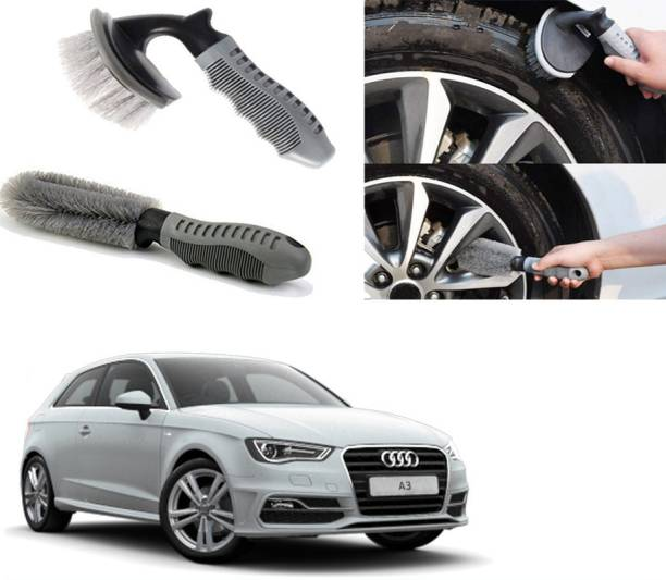Ushergy Car tyre brush 2pcs CTB-29 2 Wheel Tire Cleaner