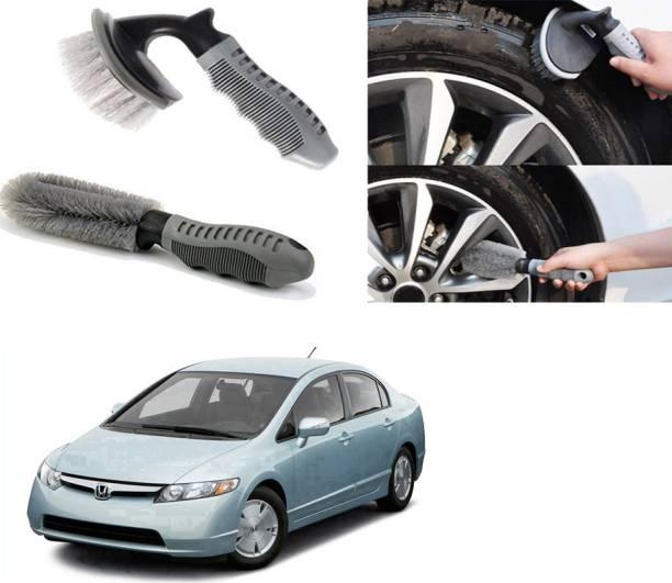 Ushergy Car tyre brush 2pcs CTB-511 2 Wheel Tire Cleaner