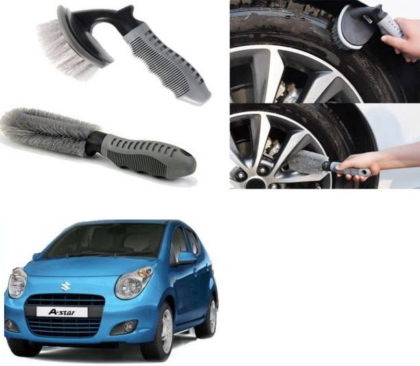 Ushergy Car tyre brush 2pcs CTB-108 2 Wheel Tire Cleaner