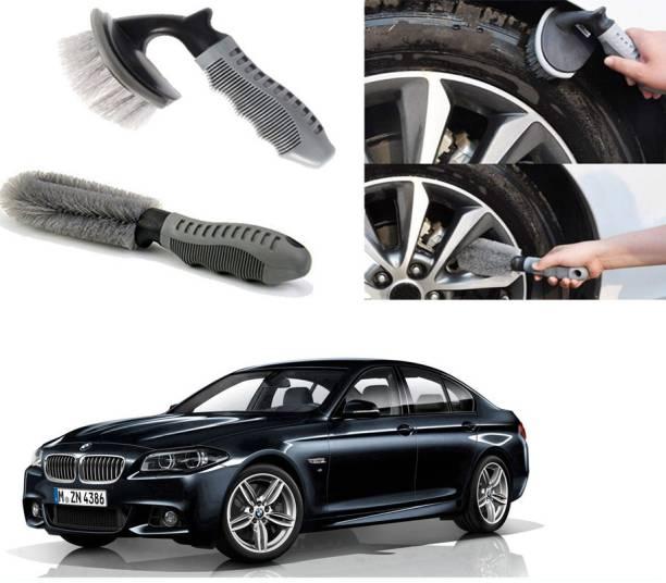 Ushergy Car tyre brush 2pcs CTB-358 2 Wheel Tire Cleaner