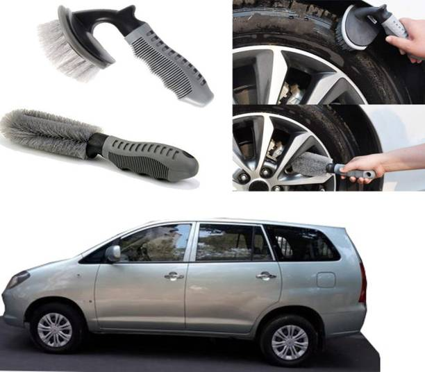 Ushergy Car tyre brush 2pcs CTB-49 2 Wheel Tire Cleaner