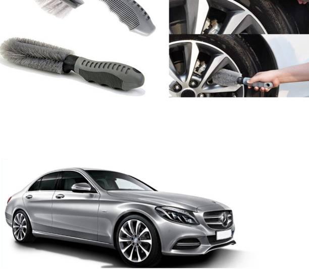 Ushergy Car tyre brush 2pcs CTB-161 2 Wheel Tire Cleaner