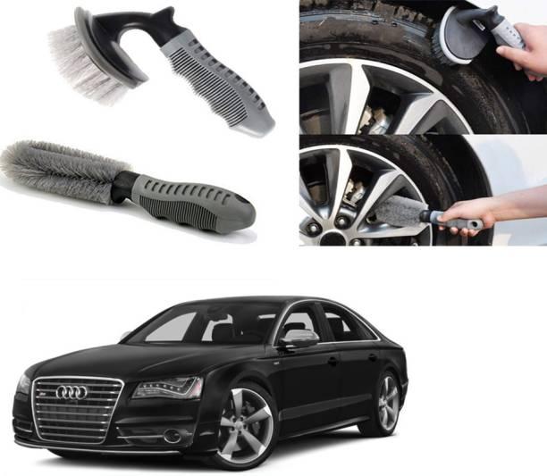 Ushergy Car tyre brush 2pcs CTB-174 2 Wheel Tire Cleaner