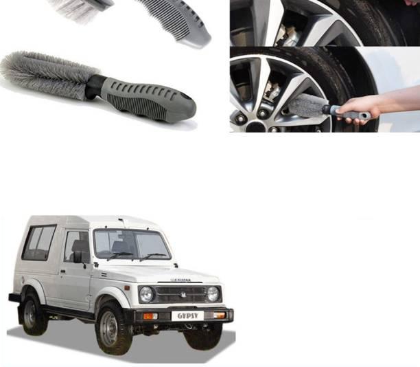 Ushergy Car tyre brush 2pcs CTB-132 2 Wheel Tire Cleaner