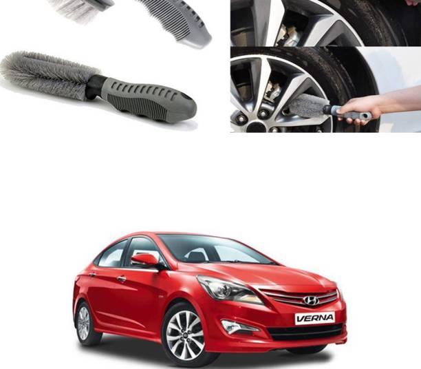 Ushergy Car tyre brush 2pcs CTB-360 2 Wheel Tire Cleaner