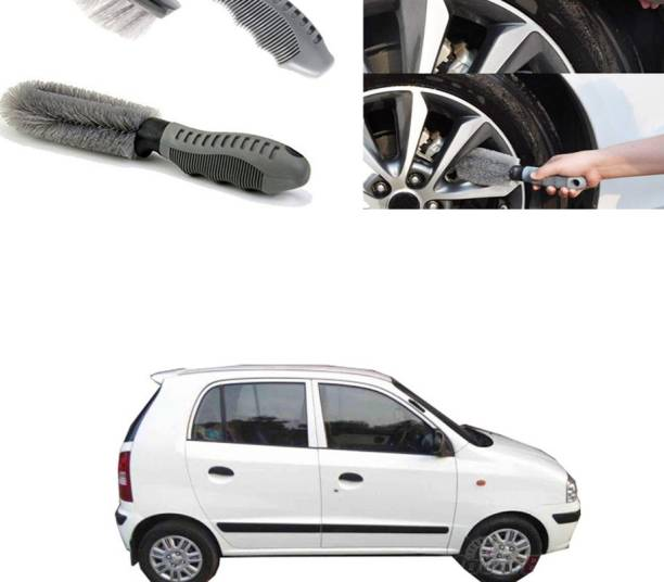Ushergy Car tyre brush 2pcs CTB-257 2 Wheel Tire Cleaner