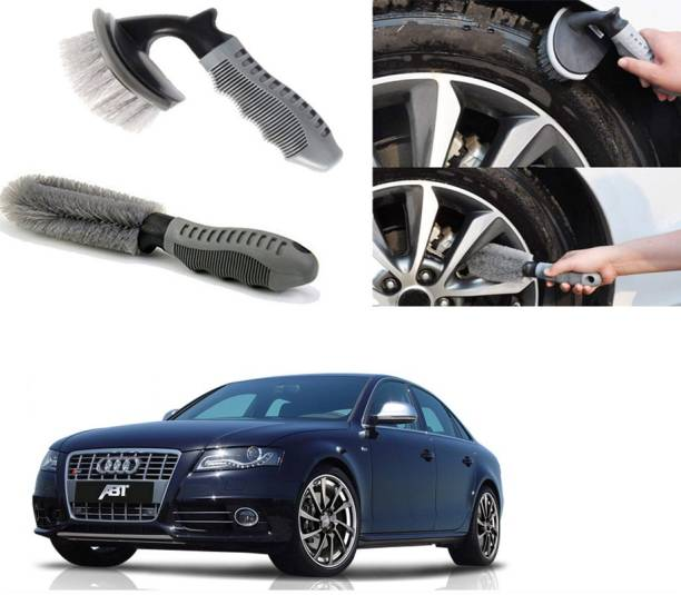 Ushergy Car tyre brush 2pcs CTB-126 2 Wheel Tire Cleaner
