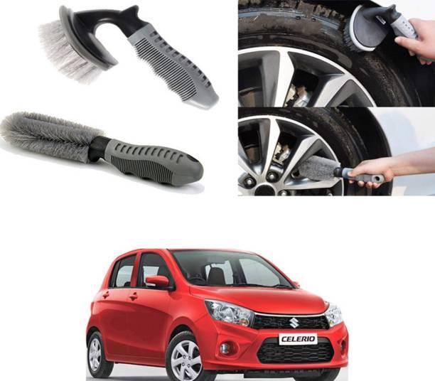 Ushergy Car tyre brush 2pcs CTB-444 2 Wheel Tire Cleaner