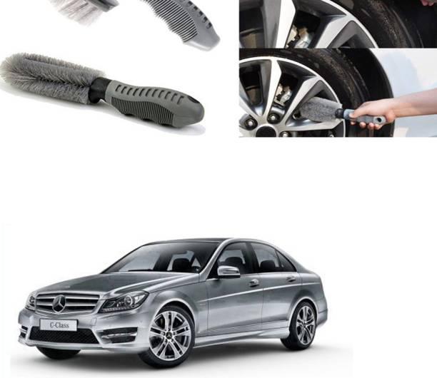 Ushergy Car tyre brush 2pcs CTB-164 2 Wheel Tire Cleaner