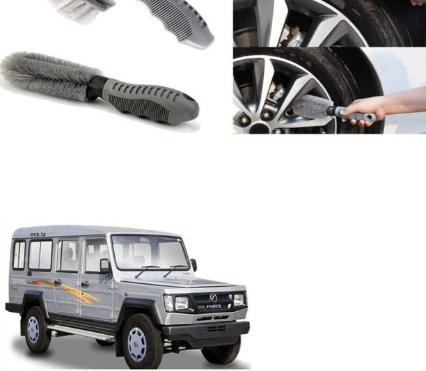 Ushergy Car tyre brush 2pcs CTB-349 2 Wheel Tire Cleaner