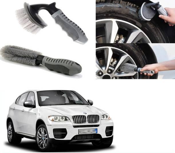 Ushergy Car tyre brush 2pcs CTB-432 2 Wheel Tire Cleaner