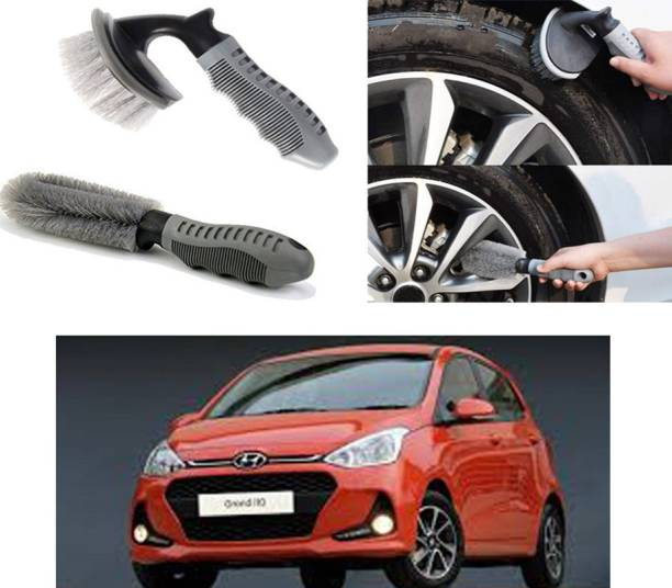 Ushergy Car tyre brush 2pcs CTB-28 2 Wheel Tire Cleaner