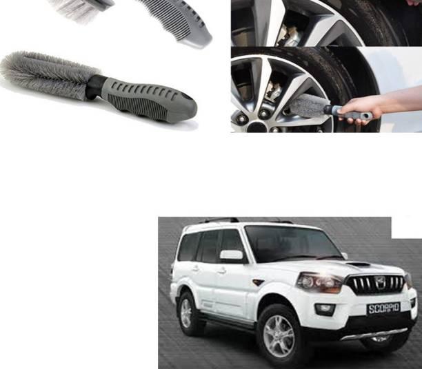 Ushergy Car tyre brush 2pcs CTB-264 2 Wheel Tire Cleaner