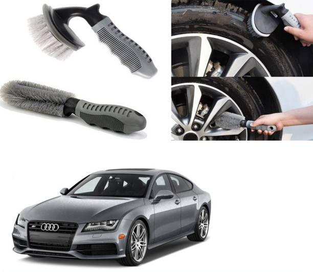 Ushergy Car tyre brush 2pcs CTB-162 2 Wheel Tire Cleaner
