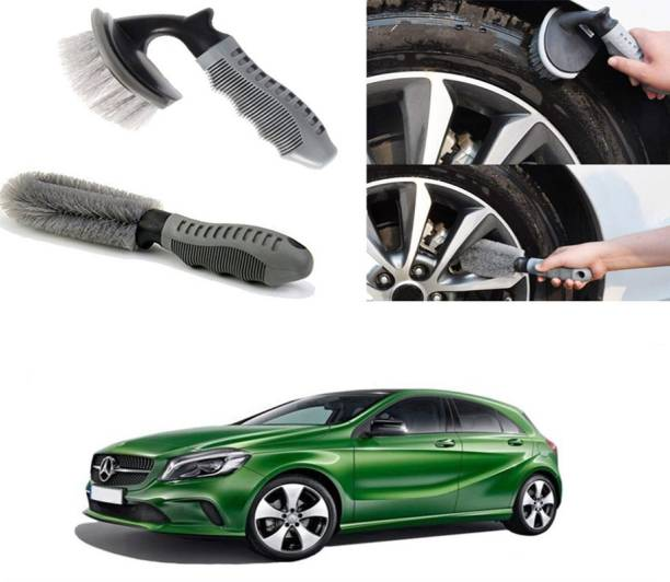 Ushergy Car tyre brush 2pcs CTB-235 2 Wheel Tire Cleaner