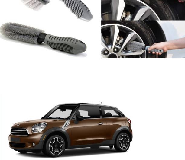Ushergy Car tyre brush 2pcs CTB-205 2 Wheel Tire Cleaner