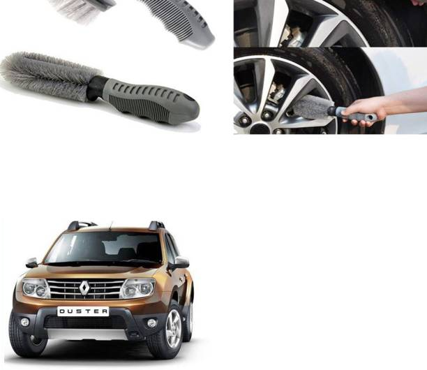 Ushergy Car tyre brush 2pcs CTB-242 2 Wheel Tire Cleaner