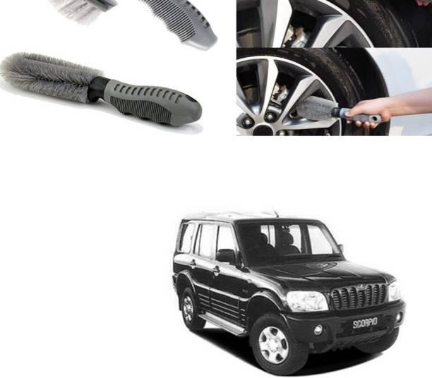 Ushergy Car tyre brush 2pcs CTB-262 2 Wheel Tire Cleaner