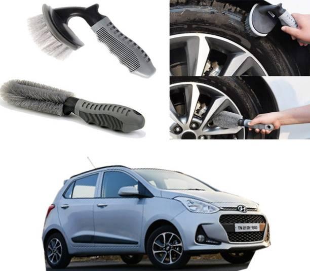 Ushergy Car tyre brush 2pcs CTB-32 2 Wheel Tire Cleaner