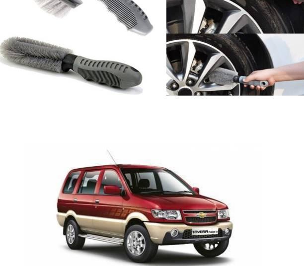 Ushergy Car tyre brush 2pcs CTB-319 2 Wheel Tire Cleaner