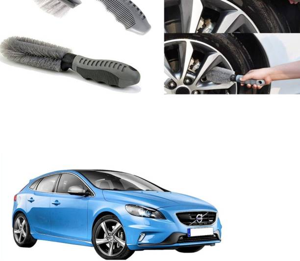Ushergy Car tyre brush 2pcs CTB-389 2 Wheel Tire Cleaner