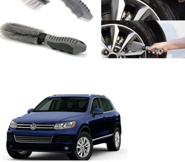 Ushergy Car tyre brush 2pcs CTB-384 2 Wheel Tire Cleaner