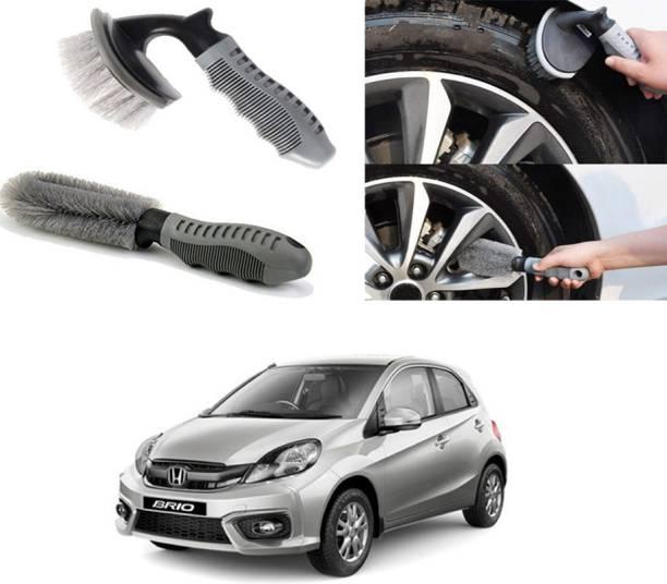 Ushergy Car tyre brush 2pcs CTB-439 2 Wheel Tire Cleaner