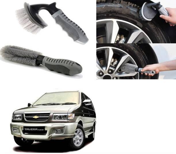 Ushergy Car tyre brush 2pcs CTB-464 2 Wheel Tire Cleaner
