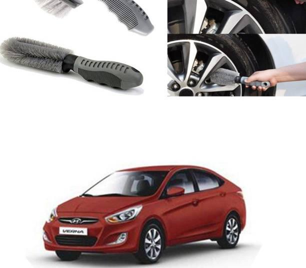 Ushergy Car tyre brush 2pcs CTB-368 2 Wheel Tire Cleaner