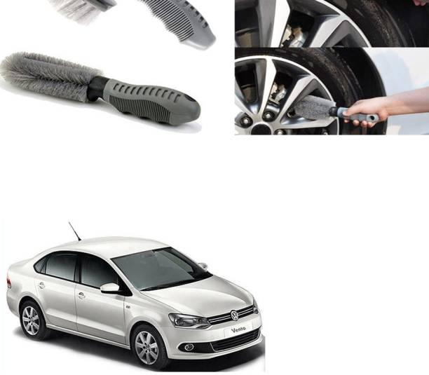Ushergy Car tyre brush 2pcs CTB-385 2 Wheel Tire Cleaner