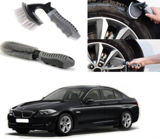 Ushergy Car tyre brush 2pcs CTB-383 2 Wheel Tire Cleaner