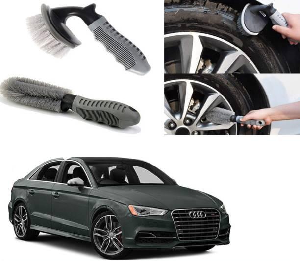 Ushergy Car tyre brush 2pcs CTB-114 2 Wheel Tire Cleaner