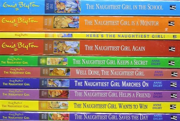 Naughtiest Girl 10 copy box set INDIA