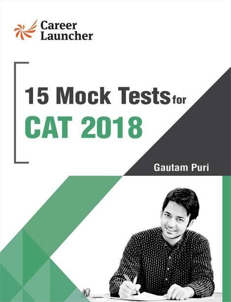 Cat 2018 15 Mock Tests - Management Books