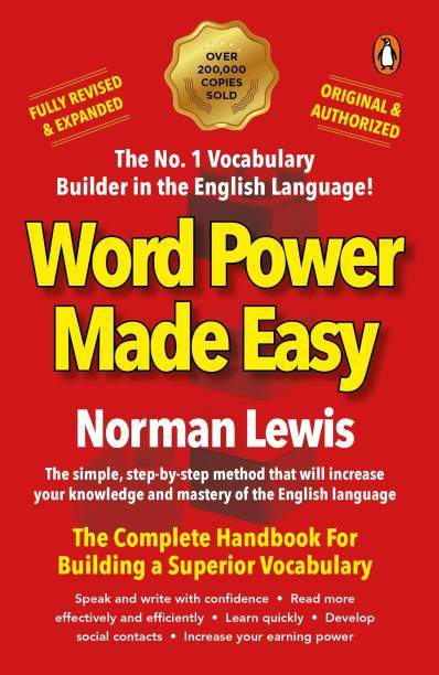 Word Power Made Easy paperback Fully Revised & Expanded, complete handbook for superior vocabulary by Norman Lewis, must read original and authorised Penguin edition for competitive exam preparation - The Complete Handbook for Building a Superior Vocabulary