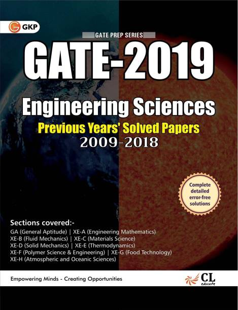Gate 2019 - Engineering Sciences - Solved Paper 2009-2018 with 0 Disc