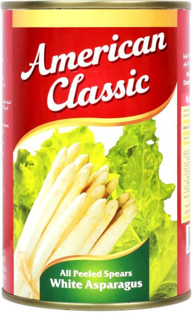 American Classic All Peeled Spears White Asparagus Tin, 425g Vegetables