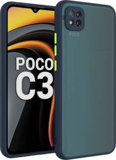 GoldKart Back Cover for Poco C3