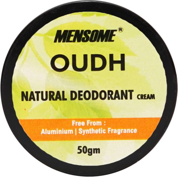 MENSOME Oudh Natural Deodrant - Long Lasting Naturally Derived Deodrant For Men And Women Deodorant Cream  -  For Men & Women