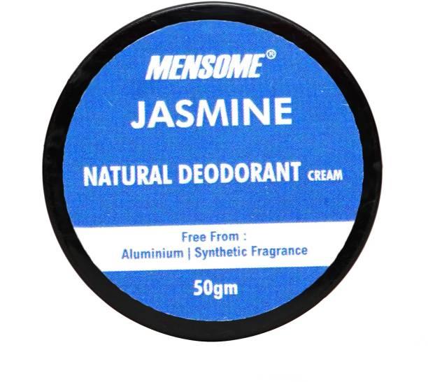 MENSOME Jasmine Natural Deodrant - Long Lasting Naturally Derived Deodrant For Men And Women Deodorant Cream  -  For Men & Women