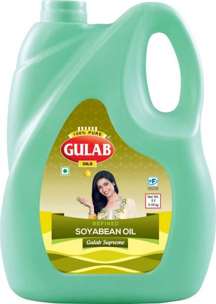 Gulab Soyabean Oil Can