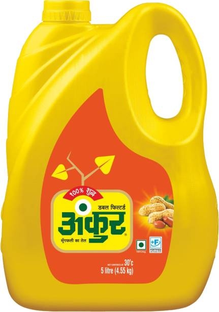 ANKUR Groundnut Oil Can