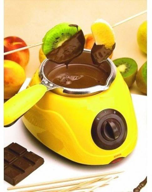 HVG TRADERS CHOCOLATE MAKER Round Electric Pan Round Electric Pan