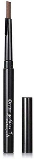 CGT Dream Goddess Rotatable Waterproof Eyebrow Pencil Sweat Resistant Long Lasting Natural Eyebrow Pencil(#02) (Light Coffee)