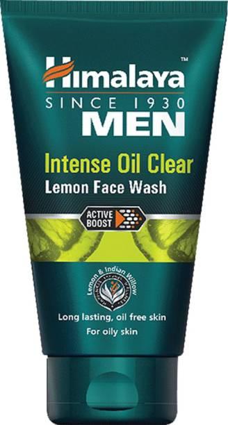 Himalaya Men Intense Oil Clear Lemon Face Wash