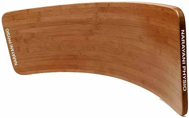 Narayani physio Curved Wooden Balance Board Balance Disc Fitness Balance Board