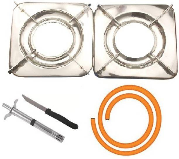 Yash Collections Stainless Steel Manual Gas Stove