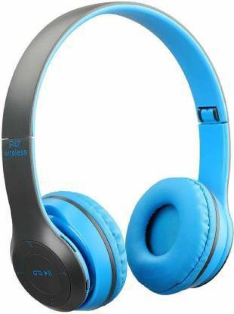 Hey for FIER P-47-Bluetooth Headset Bluetooth Headset (Blue, On the Ear) Bluetooth Headset