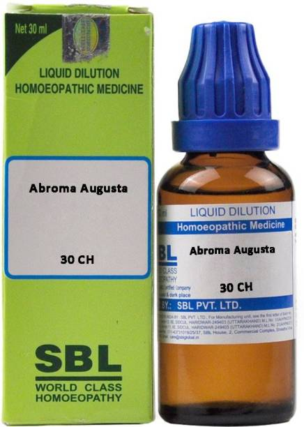 SBL Abroma Augusta 30 CH Dilution
